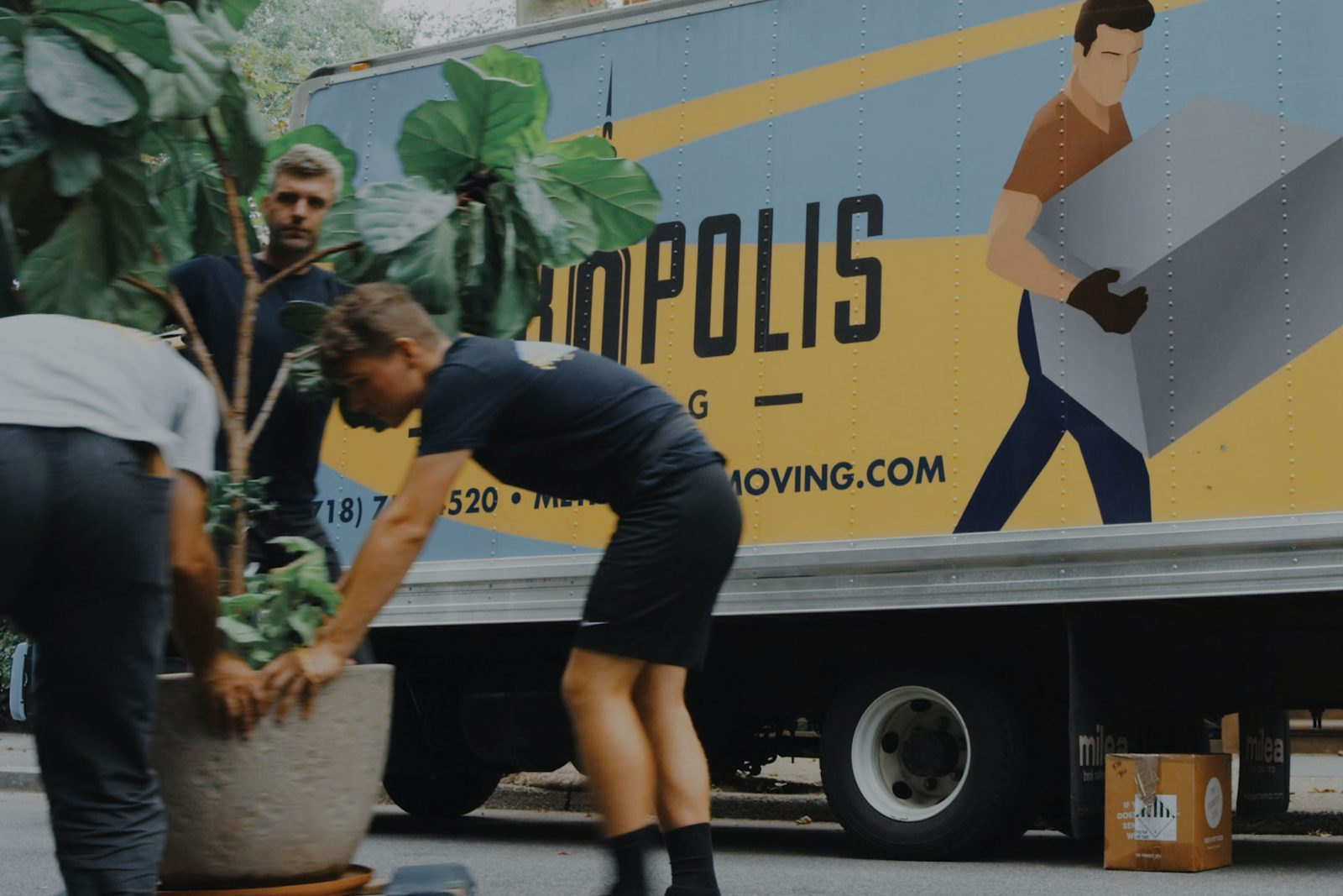 Websites built for movers